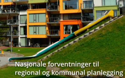 Innspill til nasjonale forventninger til kommunal planlegging