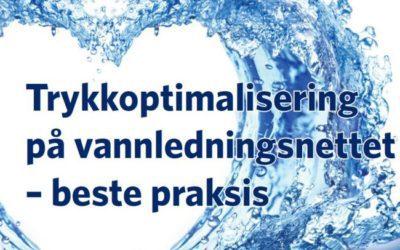 Ny Norsk Vann rapport: Trykkstyring på vannledningsnettet